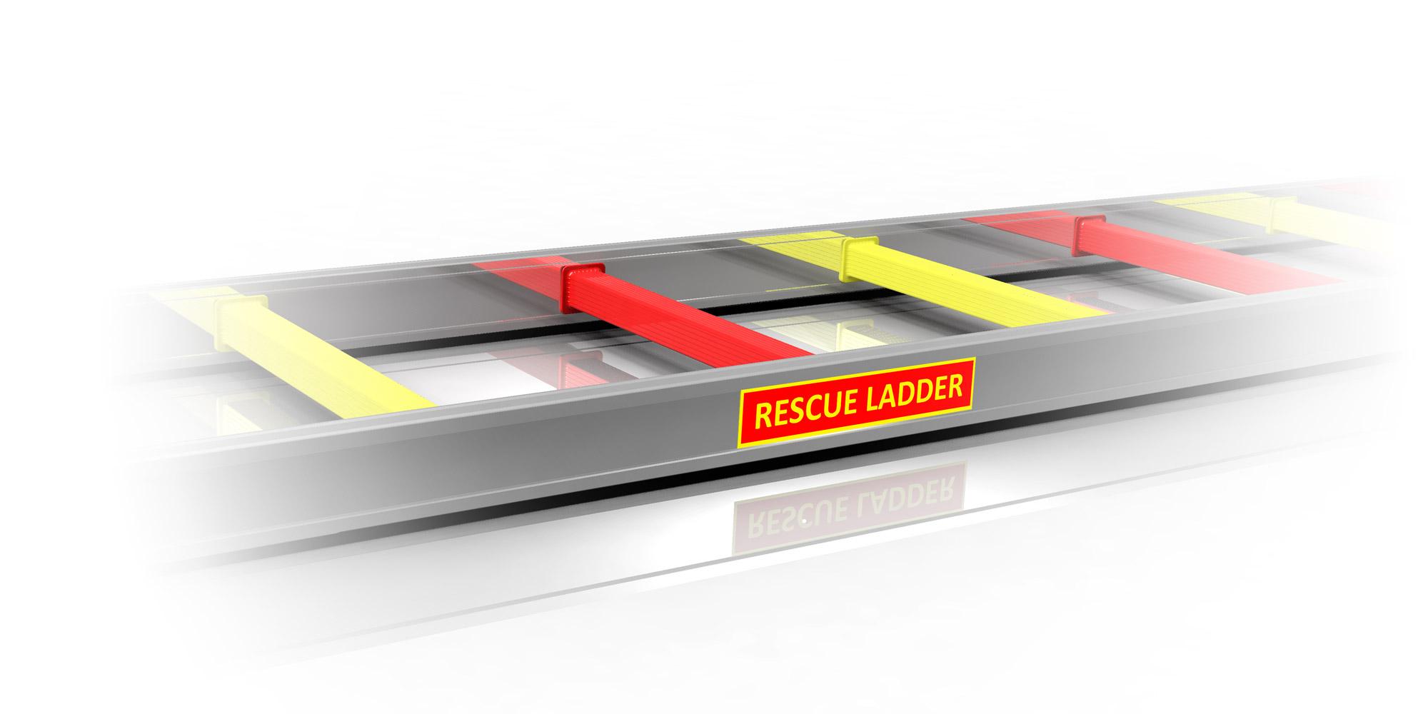 Rescue-Ladder-3-räddningsmärkt-M